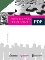 Informe Productividad Empresarial Canaria 2007 - REGENERING