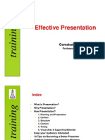 Effective Presentation [Compatibility Mode]