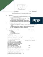 Lesson Plan for Demo1 - Copy