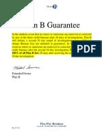 Credit Repair Plan B Flex Pay Agreement 03-13-16