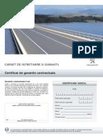 Carnet de Garantie Si Service Peugeot