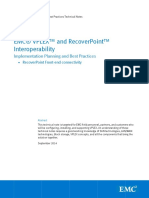 h13549 Vplex and Recoverpoint Interop Best Practices