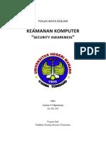 Security Awareness - Louisa Ngantung