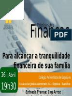 Convite Palestra Adeilson - Para Alcançar a Tranquilidade Financeira de Sua Família (002)