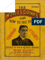 1908 The world´s drinks and how to mix them
