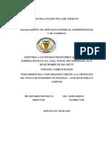 Auditoria a Los Estados Financieros