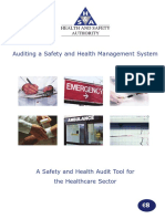 Auditing Healthcare