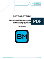 BATTMASTER Technical Datasheet Rev1