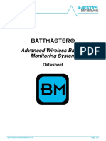 BATTMASTER Technical Datasheet v0.8