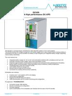 Datasheet DCU20 V3-0 Pxde7z1o