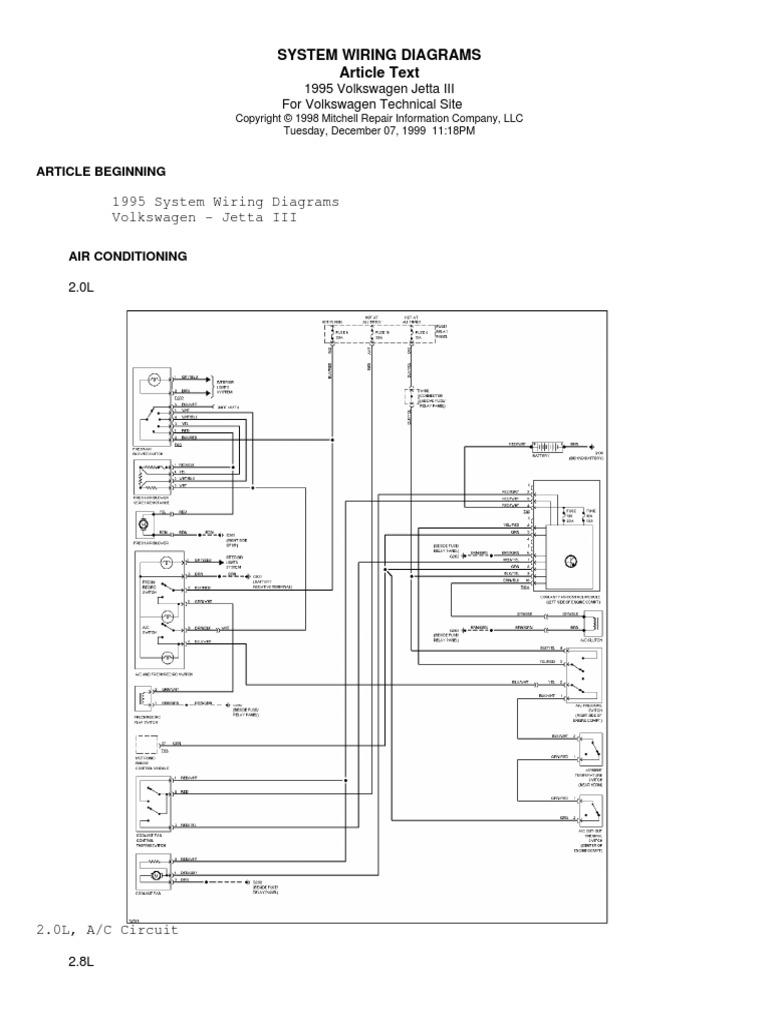 diagrama electrico completo jetta 95 mk3 vr6 descargar rh es scribd com 1996 Volkswagen Jetta 2000 Volkswagen Jetta