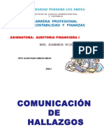 Hallazgos _financiera