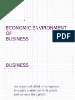 Economic Environment Of