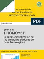 Plan Sectorial Tecnología 2016