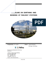 Guideline on Earthing Bonding Railway Stations