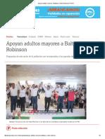 05-15-2016 Apoyan Adultos Mayores a Baltazar y Neto Robinson