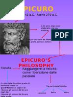 EPICURO E GLI STOICI