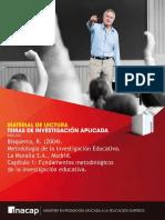 Bisquerra R. 2004. Metodologia de La Investigacion Educativa Marcardores
