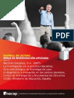 Martinez G. 2007. La Investigacion en La Practica Educativa Destacador
