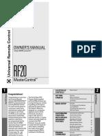 Manual RF20