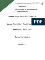 Config. de Amplificadores Operacionales