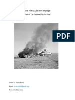 Second World War with focus on the North African Campaign