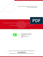 Souza-La Crisis Global de La Innovación Para El Desarrollo, Publicado en REDALYC