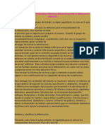 Procedimiento Para Sistematizar Manual y Electronicamente La Informacion Obtenida