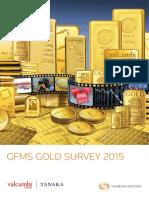 GFMS Gold Survey 2015
