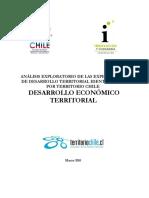 Estudio Desarrollo Economico Territorial