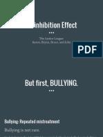 totd- disinhibition effect