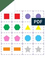 Shapes Matching Game