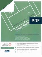 marin tennis clinic flyer - june 4th
