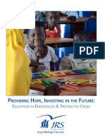 Education in Emergencies and Protracted Crisis