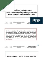 Variables y Areas PMP