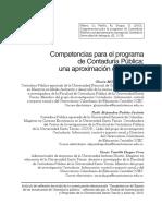 Competencias Para El Programa