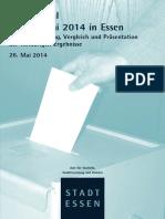 Europawahl 2014 Vorlaeufiger Bericht