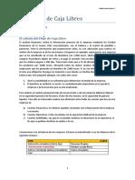 Los Flujos de Caja Libres - Garcia