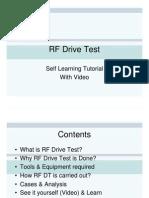 RF Drive Test Tutorial Demo Version