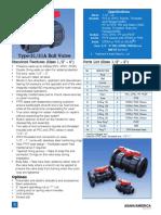 Datasheet Type 21 Ball Valves