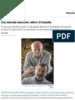 Emilio Lledó y Manuel Cruz