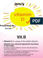 Vit d Deficiency..