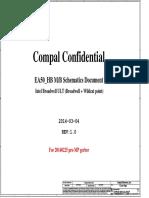 Compal La-b161p r1.0 Schematics
