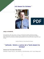 Tgs Conceptos de Teoria General de Sistemas