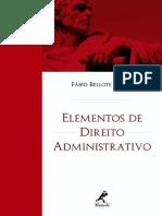 Elementos de Direito Administrativo - Fаbio Bellote Gomes