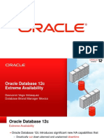 OracleDB HA 12cR1 Overview