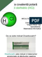 Legătura Covalentă Polară Acidul Clorhidric (HCl