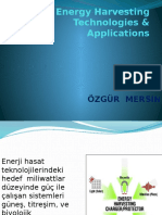 Energy Harvesting Technologies & Applications