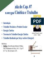 Energia e Trabalho