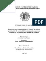 Desarrollo de Sistema de Análisis de Aceites en Buques
